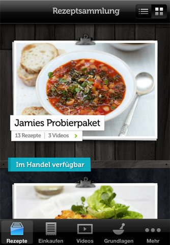 Recipes - Jamie Oliver App