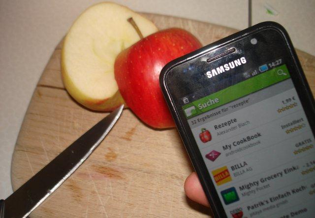 Rezepte-Apps für Smartphones