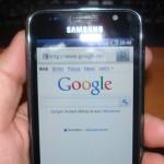 Samsung Galaxy I9000 mit Google