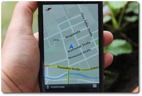 Handy als GPS-Peilsender