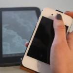 Tablet -PC und IPhone
