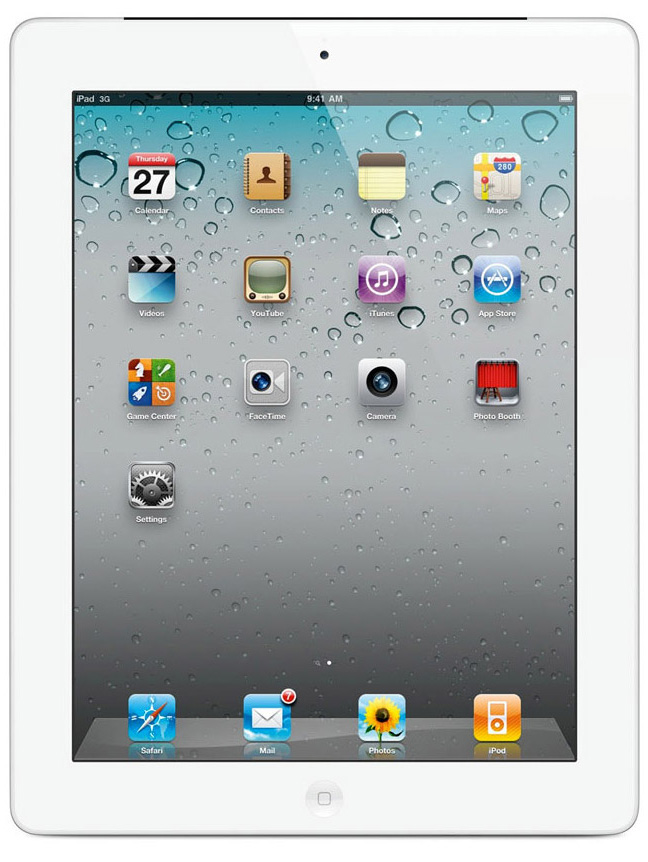 Apple iPad 4 32GB WiFi + Cellular Weiß