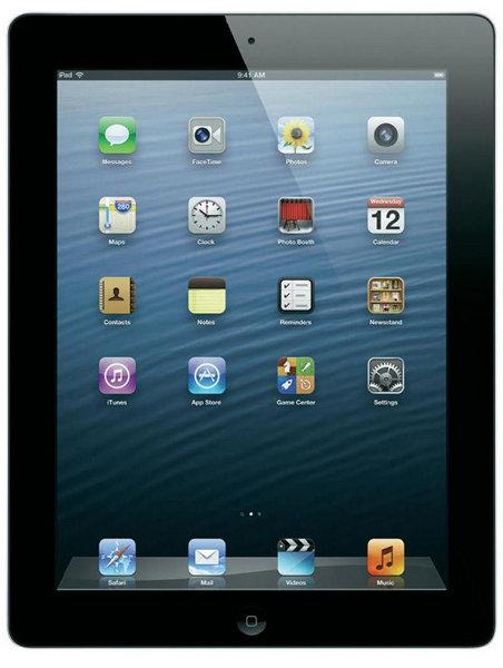 Apple iPad 4 64GB WiFi + Cellular Schwarz