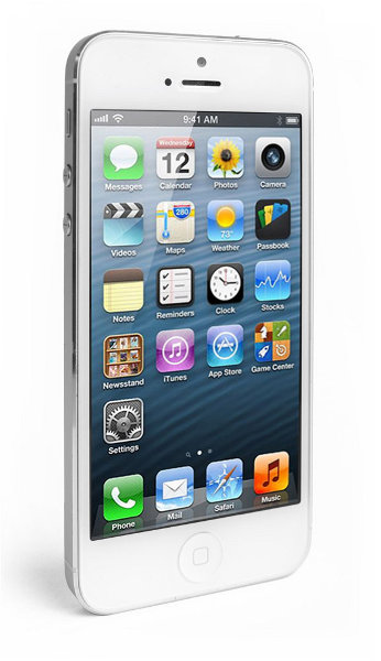 Apple iPhone 5 64GB Weiß & Silber