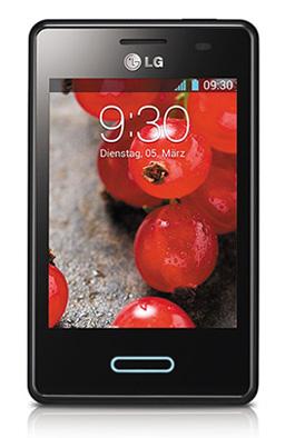 LG Optimus L3 II Metallic Schwarz