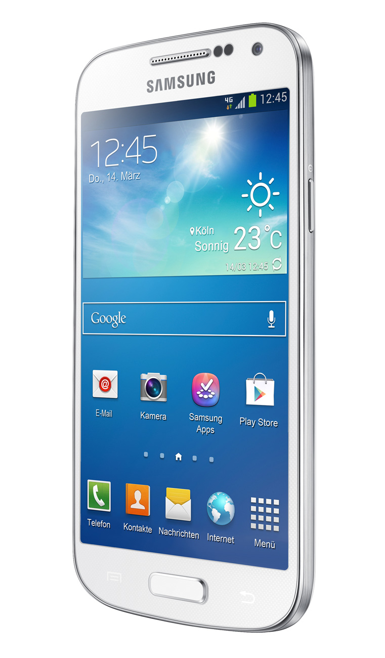 samsung galaxy s4 mini white handy mobile. Black Bedroom Furniture Sets. Home Design Ideas