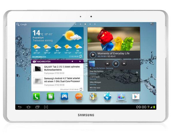 Samsung Galaxy Tab 2 10.1 32GB White