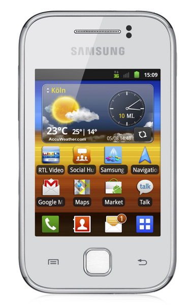Samsung Galaxy Y Pure-White