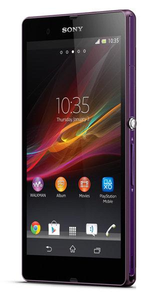 Sony Xperia Z Violett